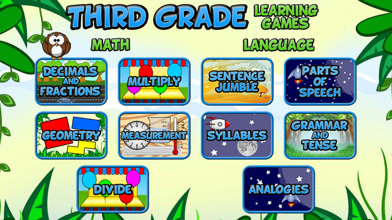Learning Games Apps For Kids Pre K To 6th Grade Kindle Fire On