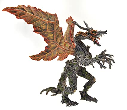 Plastoy - 60245 - Figurine - Le Dragon - Vegetal Automne New