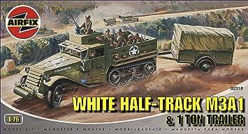 Airfix - A02318 - Construction et Maquettes - Bâtiment - White Half Track M3A1