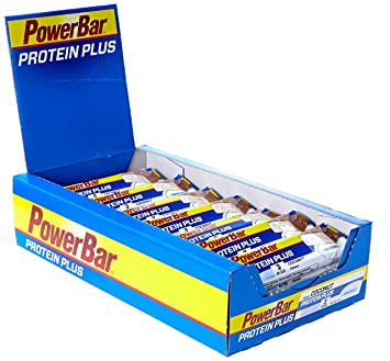 Powerbar Protein Plus Bar+Energy&Protein Kokos, 30 x 35 g, 1er Pack (1 x 1.1 kg Packung)