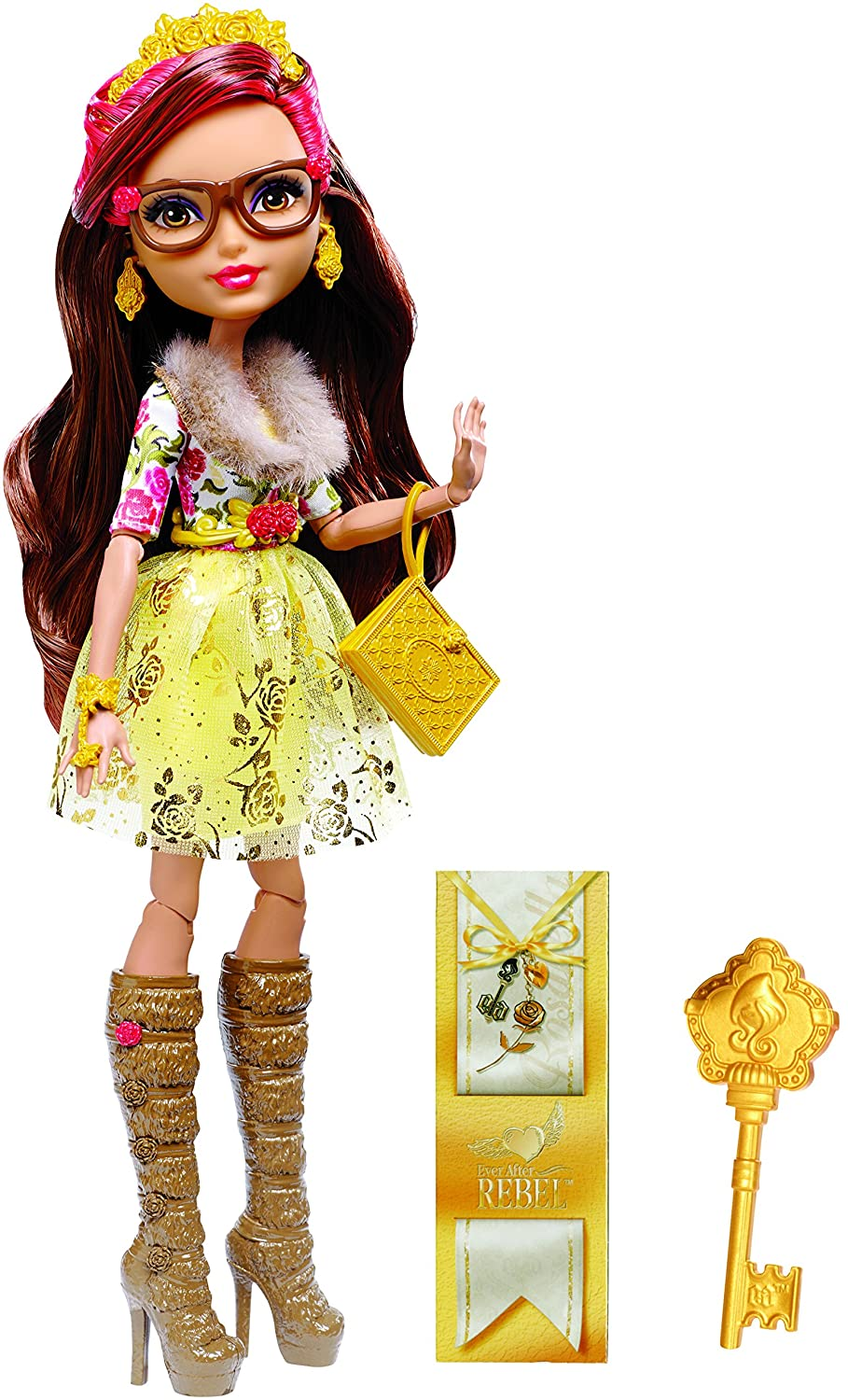 Details about Ever After High Rosabella Beauty Doll REBEL Daughter of ...