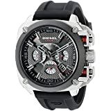 Diesel Men's DZ7356 BAMF Analog Display Quartz Black Watch