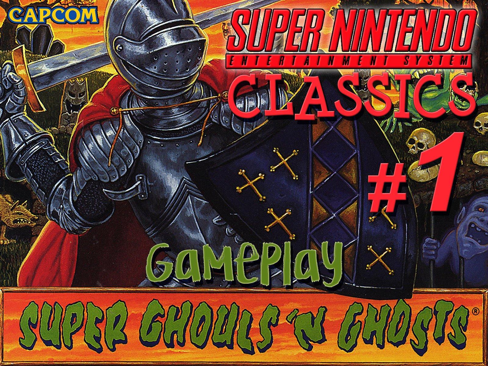 Clip: Super Ghouls'n Ghosts Playthrough (SNES Classics 1) - Season 1