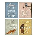 Woodland Nursery, Collection Inspirational Animals 8x10