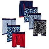Hanes Big Boys' Red Label Comfort Flex Sport Ringer Boxer Briefs 7 Pack, Assorted, Medium (Color: Assorted, Tamaño: Medium)