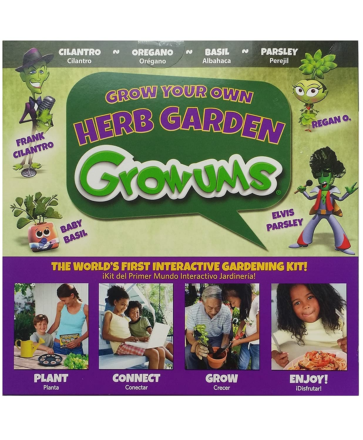 Growums Herb Garden Tray (8 Count)