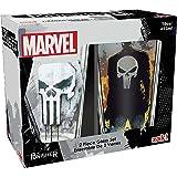 Zak Designs MKPB-B082 Marvel Comics Pint Glasses 16oz 2 Piece Punisher (Color: Marvel Comics Punisher, Tamaño: 16oz 2 Piece)