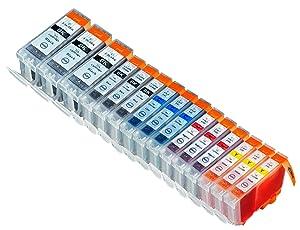 15 Multipack de alta capacidad Canon BCI-3 , BCI-3E , BCI-6 Cartuchos Compatibles 3 negro grande, 3 negro pequeño, 3 ciano, 3 magenta, 3 amarillo para Canon iP4000, iP4000R, iP5000, MP750, MP760, MP780. Cartucho de tinta . BCI-3-E-BK , BCI-6-BK , BCI-6-C / BCI-3-E-C , BCI-6-M / BCI-3-E-M , BCI-6-Y / BCI-3-E-Y © 123 Cartucho  Oficina y papelería Más información y revisión del cliente