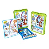 Crayola Color Wonder Travel Esel Paw Patrol Pages with Bonus Pages, Markers and Color Wonder Paint Coloring Travel Books and Esel 61 Piece MEGA Set (Color: Paw Patrol, Tamaño: Mega Pack)