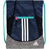 adidas Alliance II Sack Pack (Collegiate Navy/Jersey) (Color: Collegiate Navy/Jersey, Tamaño: Dimensions: 18
