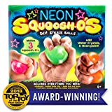Neon Squoosh-O's D.I.Y. Stress Ball by Horizon Group USA
