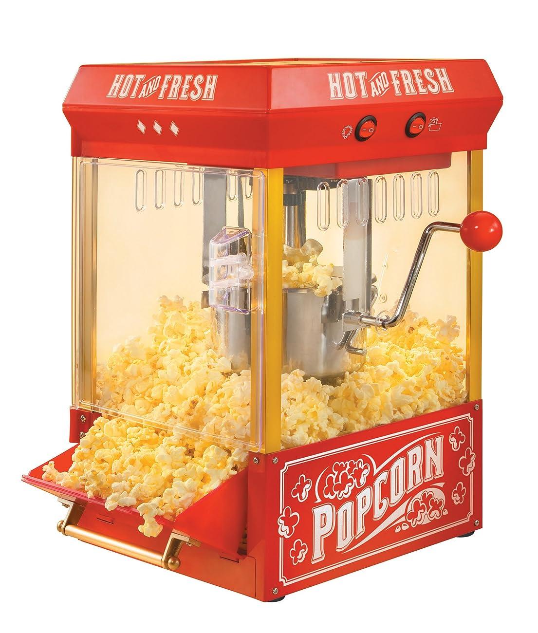 Nostalgia KPM200 Vintage Collection 2.5-Ounce Kettle Popcorn Popper 0
