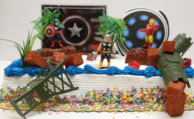 Captain America Cake Car Interior Design