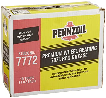 You will notice details, review cost and in addition understand review  purchaser views just before acquire Pennzoil (7772-10PK) 707L Premium Wheel  Bearing ...