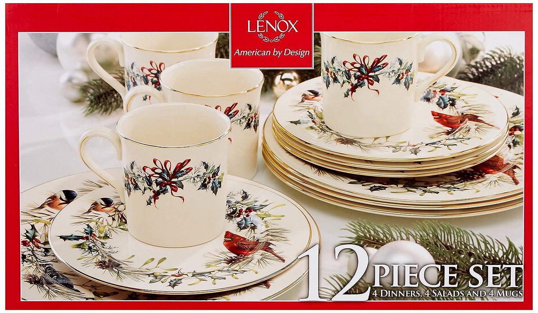 Lenox Winter Greetings 12 Piece Set