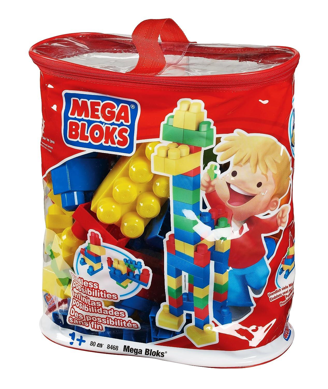 MEGA Bloks 8468 – Maxi Bausteinebeutel – Large 80 teile günstig bestellen