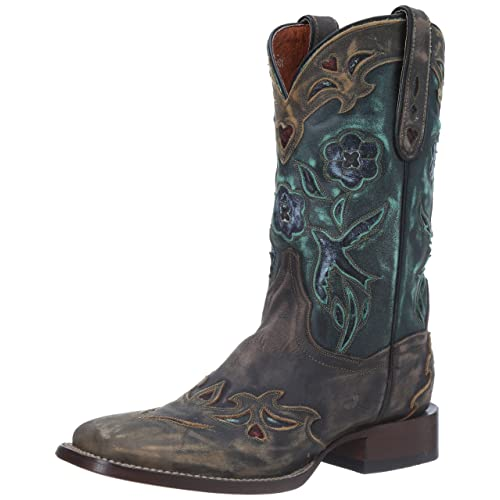 Dan Post Womens CC Bluebird Western Boot