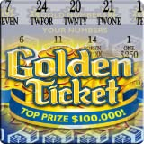 Golden Ticket - Lotto Scratch Card