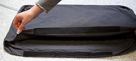 gartenm bel sitzkissen polster auflagen f r rattan lounge gruppen farbe anthrazit. Black Bedroom Furniture Sets. Home Design Ideas