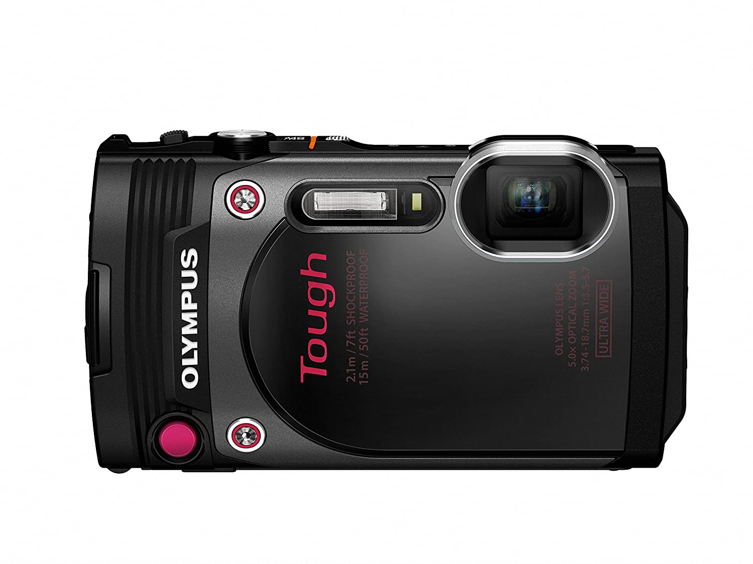 Olympus TG-870 Tough Waterproof Digital Camera (Black)