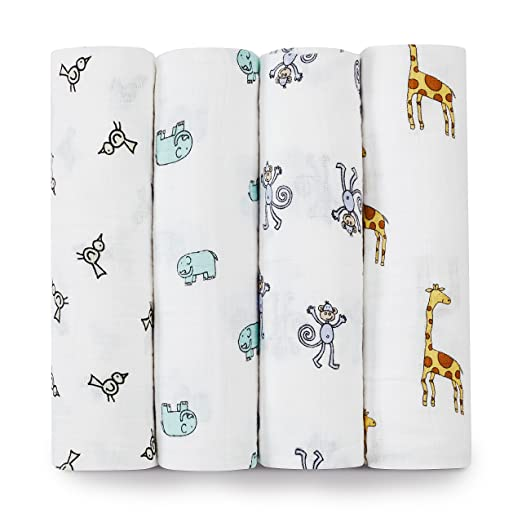 aden + anais swaddle 4 pack
