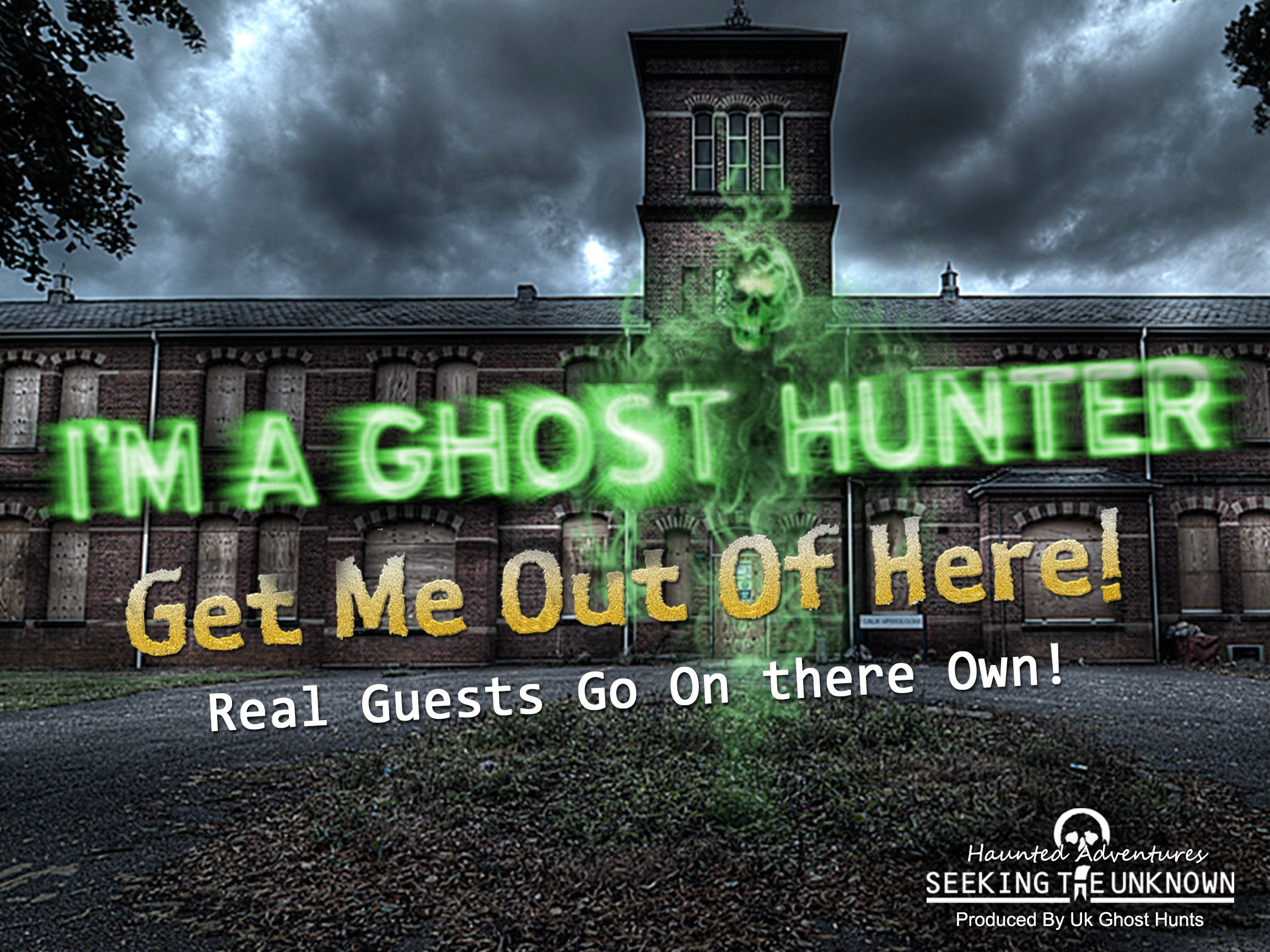 "I'm a Ghost Hunter ""Get Me Out Of Here"" - Season 1"