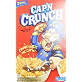 Cap'N Crunch Sweetened Corn and Oat Cereal, 40 Ounce