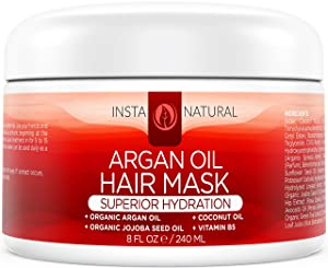 How to take care of your Dry Hair - Argan Oil Hair Mask - Deep Conditioner Treatment for Dry, Damaged Hair