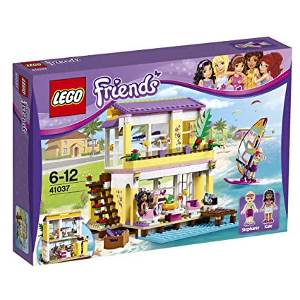 LEGO Friends - 41037 - Jeu De Construction - La Villa Sur La Plage