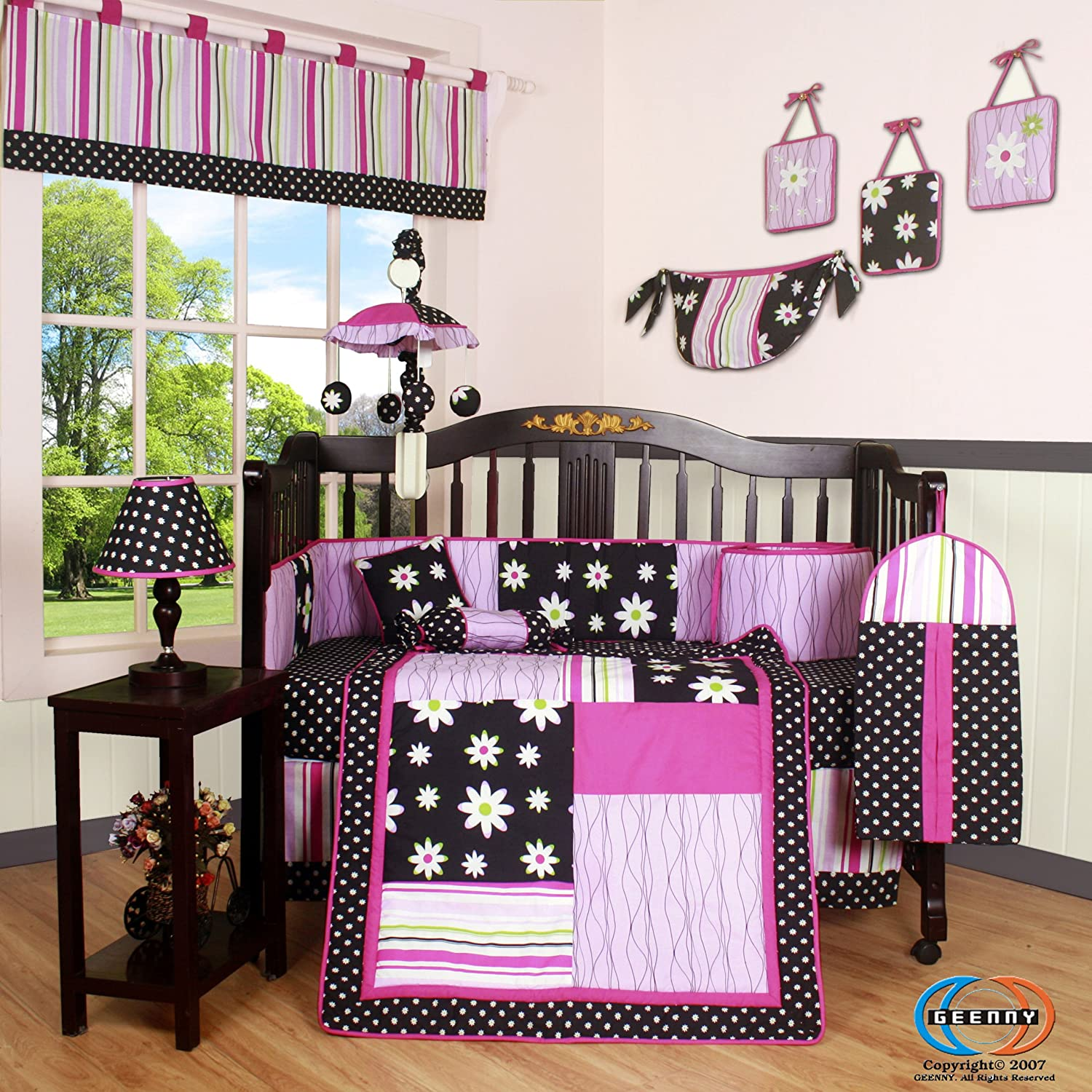 Geenny Boutique Charming Flower Baby Bedding Collection