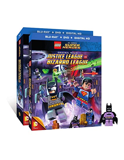 LEGO Justice League Vs Bizarro League Blu-ray Giveaway 3/3