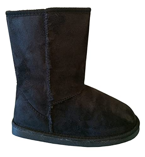 New-Girl-s-Kid-s-Cute-Warm-Winter-Mid-Calf-Snow-Boots-Shoes