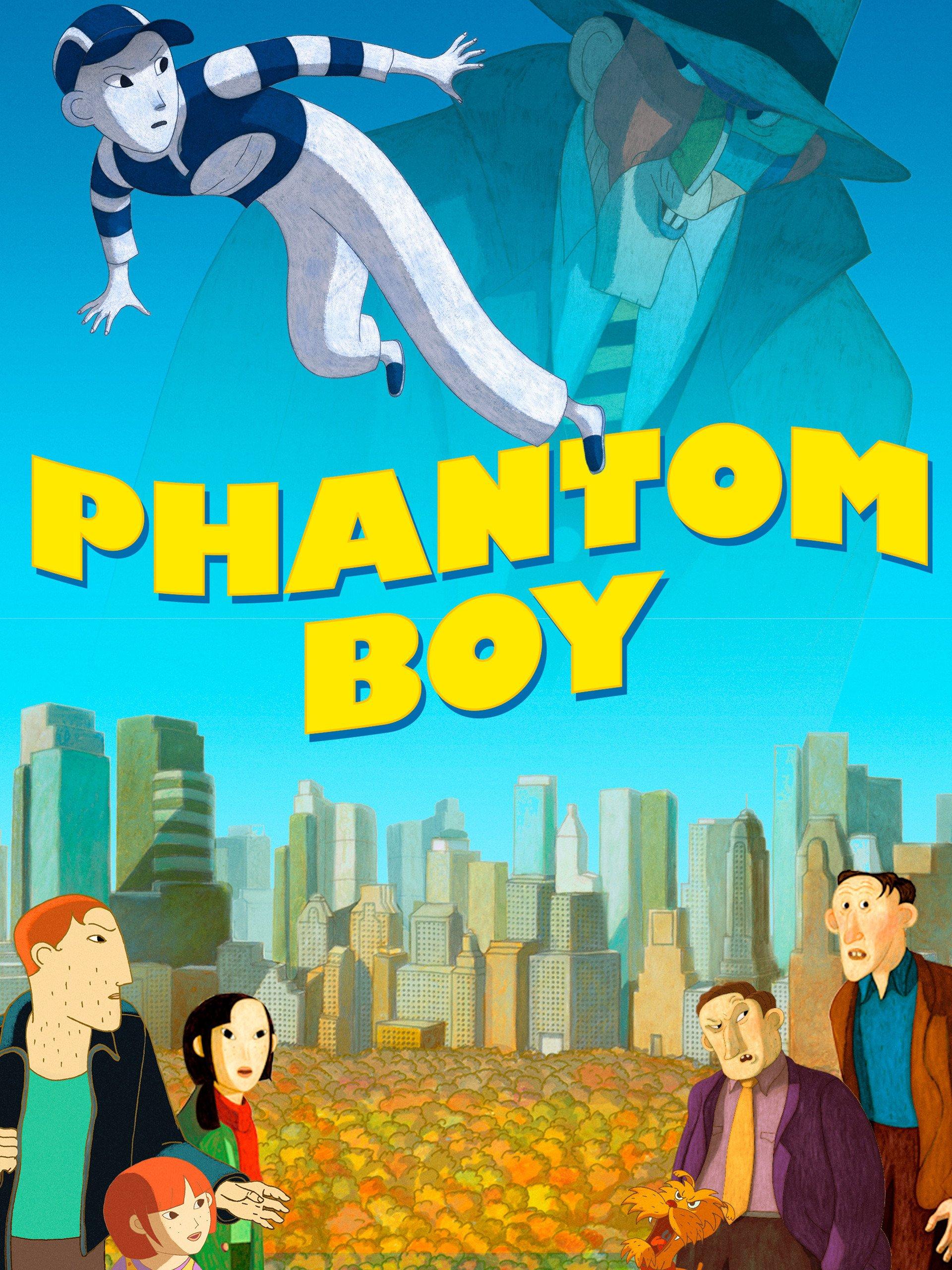 Phantom Boy on Amazon Prime Instant Video UK