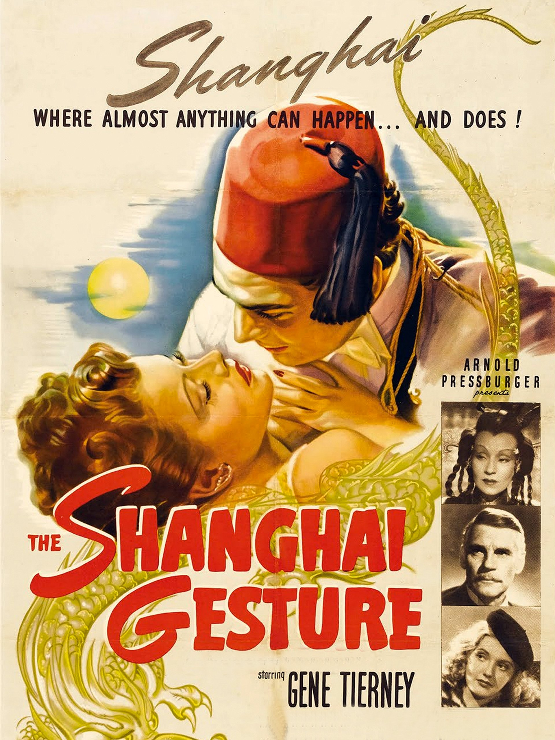 The Shanghai Gesture on Amazon Prime Instant Video UK