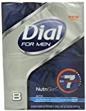 Dial For Men Nutriskin 7 Bionutrients Soap Bar, 8 Count (Pack of 2)