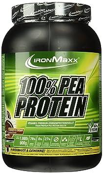 IronMaxx 100 Prozent Pea Protein - Cookies und Cream, 1er Pack (1 x 900 g)