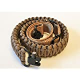 Ten Point Gear Gun Sling Paracord 550 Adjustable w/Swivels (Multiple Color Options) (Coyote Brown) (Color: Coyote Brown)