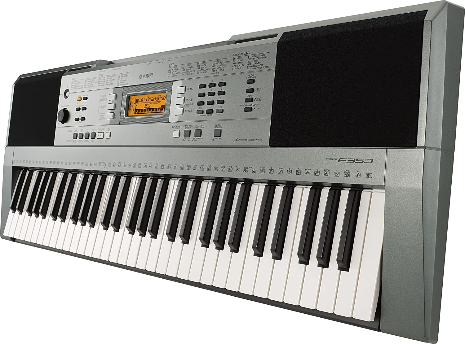 Image result for yamaha keyboard PSR e353