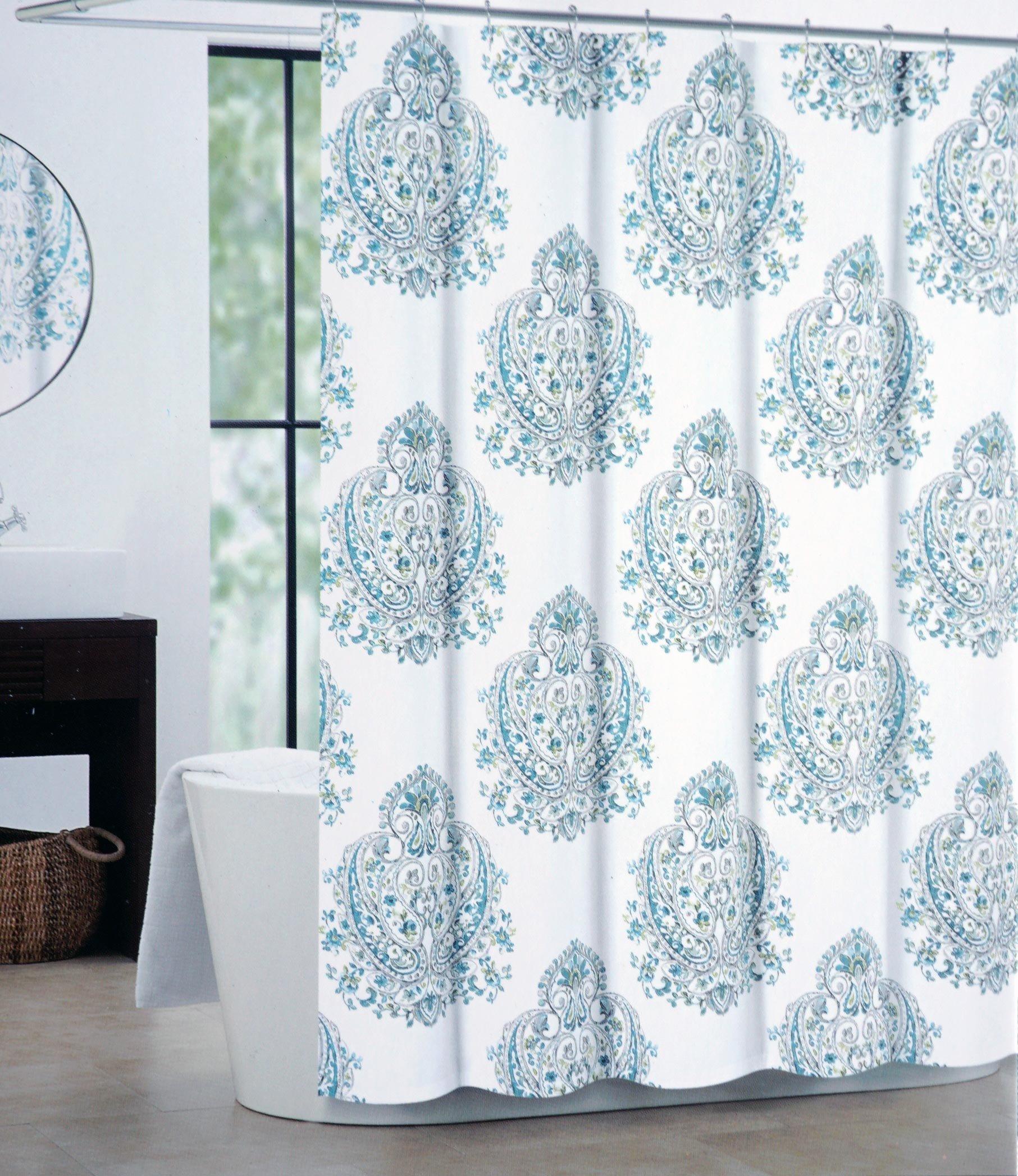 Tahari Sheets Sale: Tahari Fabric Shower Curtain