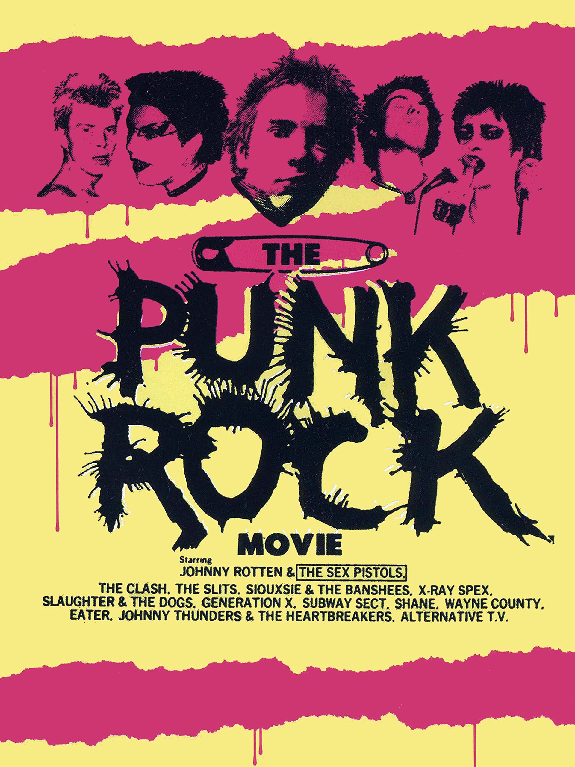 The Punk Rock Movie on Amazon Prime Instant Video UK