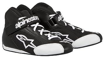 ALPINESTARS 2712513-12 Chaussures Kart, Noir/Blanc, Taille : 1