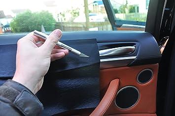 Mittelkonsole Carbon Braun Interieurleisten 3D Folien SET 100/µm stark 12 tlg T/ürleisten Aschenbecher passend f/ür Ihr Fahrzeug