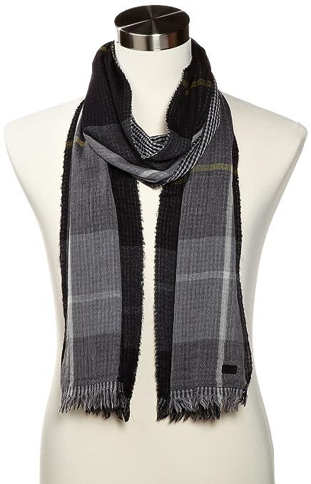 反季节销售,HUGO BOSS 羊毛混纺围巾,$63.79