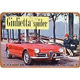 1959 Alfa Romeo Giulietta Spider Vintage Look Sign