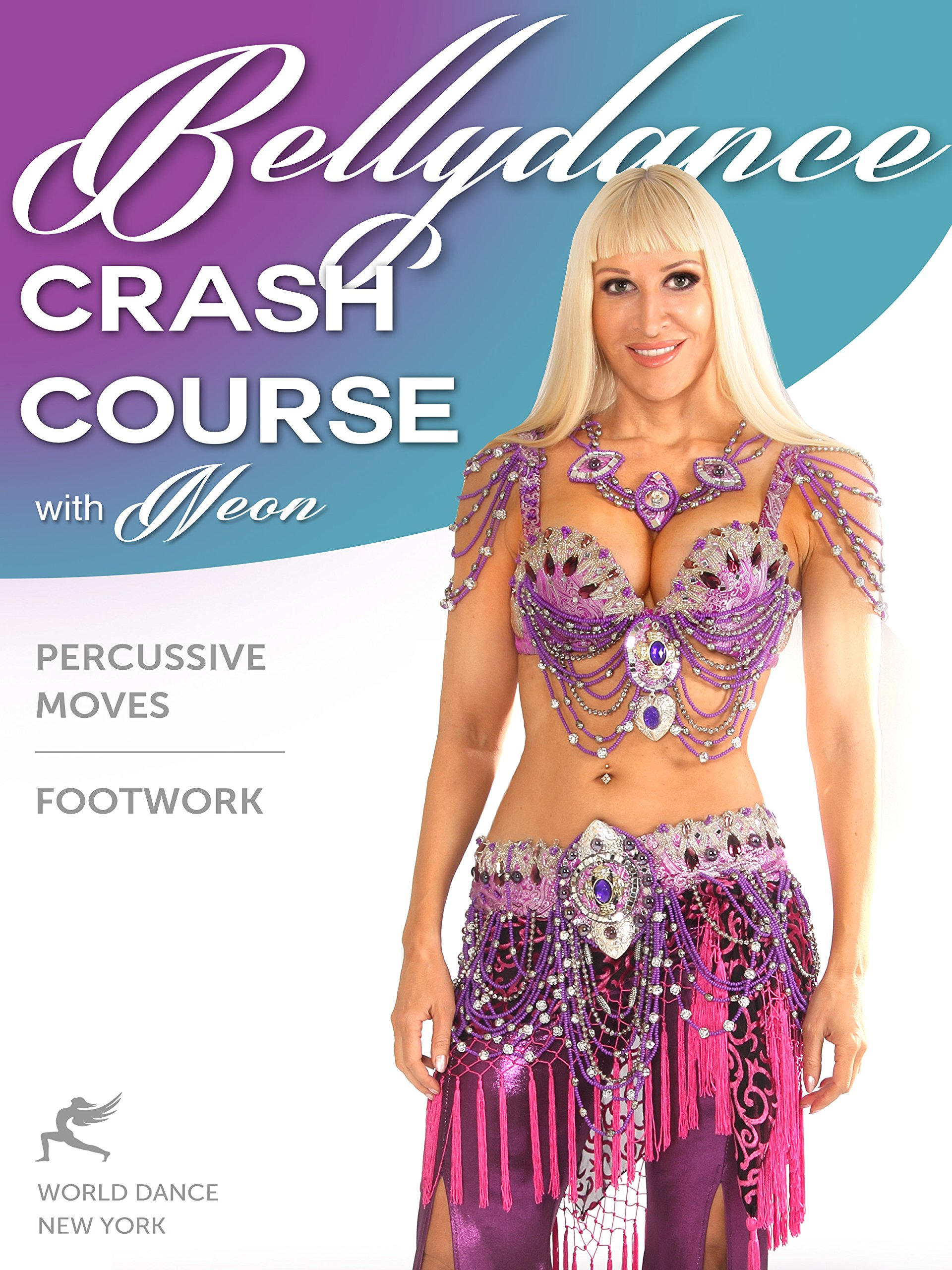 Belly Dance Percussive Moves & Footwork Crash Course with Neon