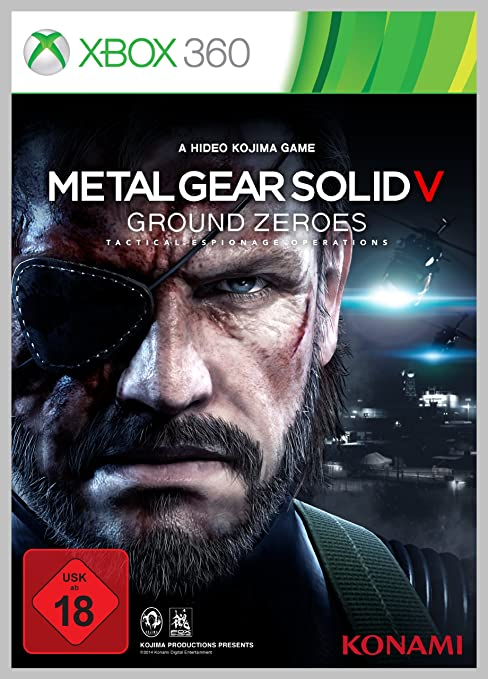 Metal Gear Solid V: Ground Zeroes, Xbox 360