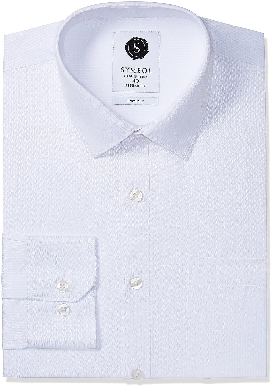 Deals on l Men's Formal Dobby Regular Fit Shirt