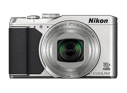 """Nikon Coolpix S9900 Appareil photo numérique compact 16 Mpix Écran LCD 3"""" Zoom optique 30X Argent"""