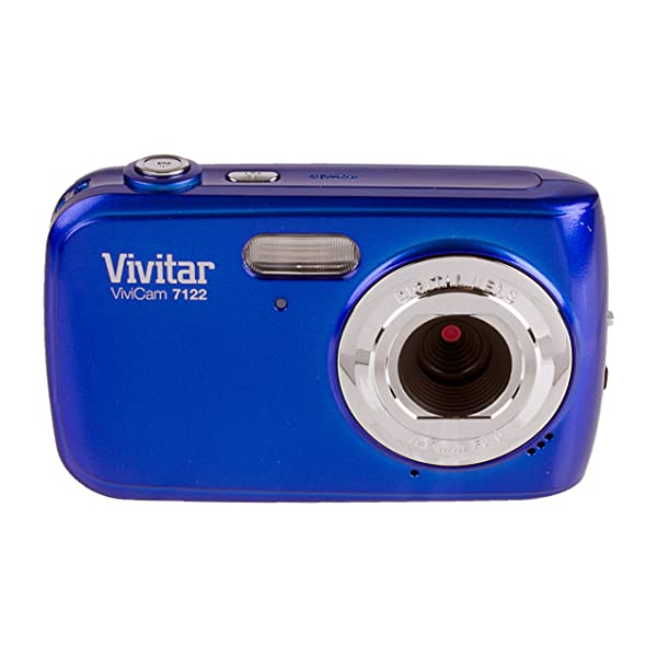 Vivitar ViviCam 12.1 MP Digital Camera with 1.8-Inch LCD Body Only (Style and color may vary)