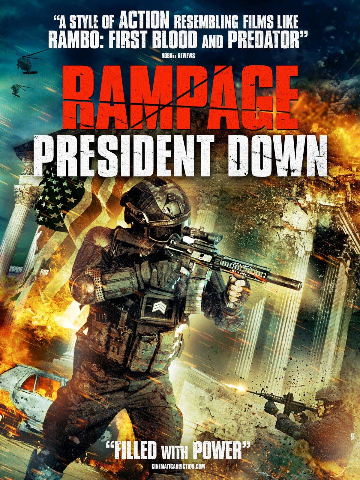 Rampage President Down on Amazon Prime Video UK
